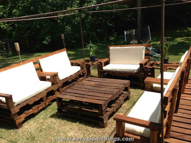Patio Furniture from Pallets