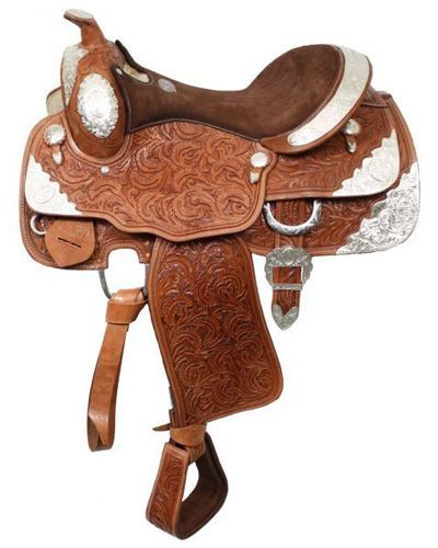 Double T Show Saddle - #407616