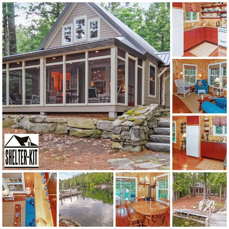 56 best Shelter Kit Homes images on Pinterest Small houses Little