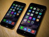 With its big-screened iPhone 6 lineup, Apple jumped past Samsung to capture a 20.4 percent share of smartphone sales last quarter, says research firm Gartner.
