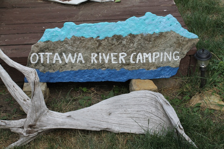 www.ottawa-river-camping.com Never ever did find out who made this and left it!!!!