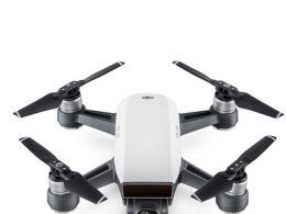 The new DJI Spark drone says it responds to hand gestures for flights.