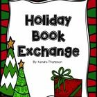 """Promote reading with this fun holiday book exchange! Students bring in an inexpensive wrapped book and you read aloud a short story that uses """"lef..."""