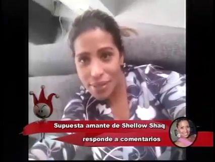 La Chama, Supuesta Segunda Base De Shelow Shaq Le Responde A Todos Los Que Andan Hablando De Ella #Video