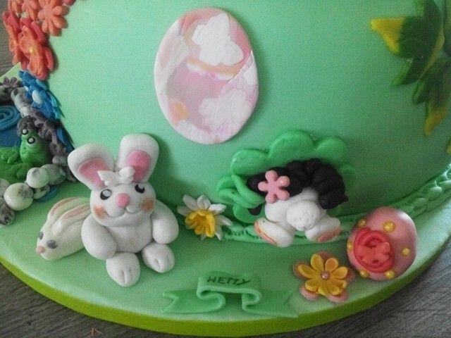 Detail Ostara cake