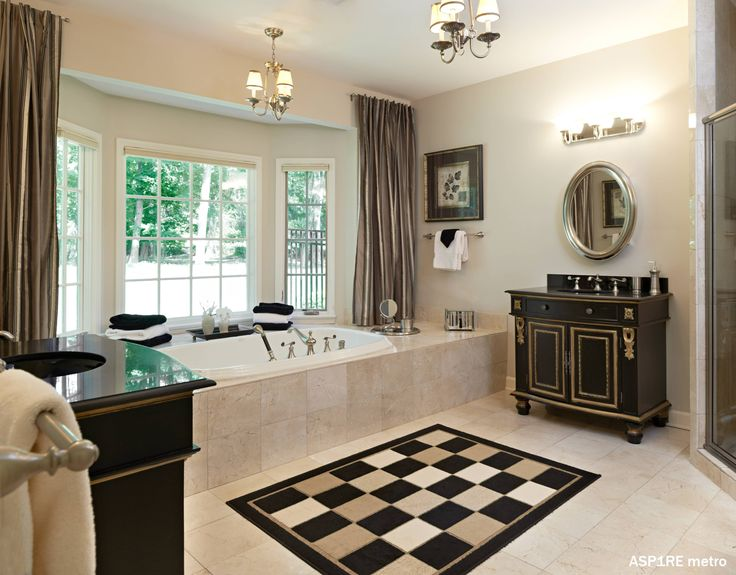 Bathtub Luxury Bathroom Modern Contemporary Remodel Interior Design Ideas  Decor Tips Decoration Amazing Style Incredible Black White