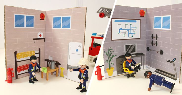 Créez une caserne de pompiers, un DIY très facile et pratique pour occuper les enfants en vacances. Découvrez tous nos ateliers enfants ...