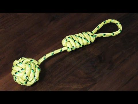 Detailed Tutorial On How To Tie A Monkey's Fist Knot - YouTube
