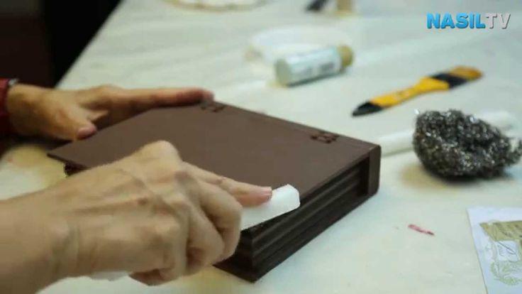 Ahşap boyamada eskitme tekniği nasıl yapılır?