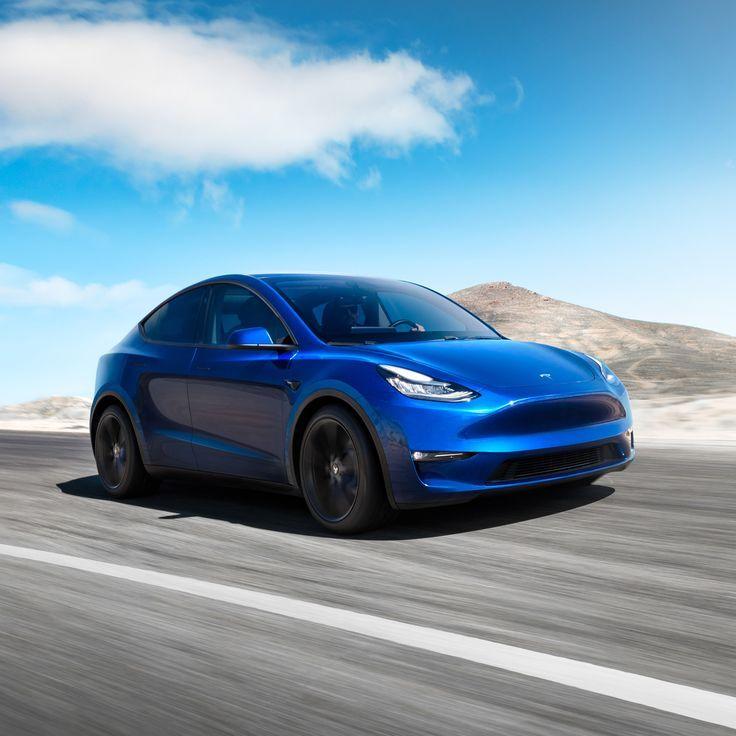 Tesla Reveals Latest Model Y Electric Suv Elon Musk S Car Brand Tesla Has Unveil Cars