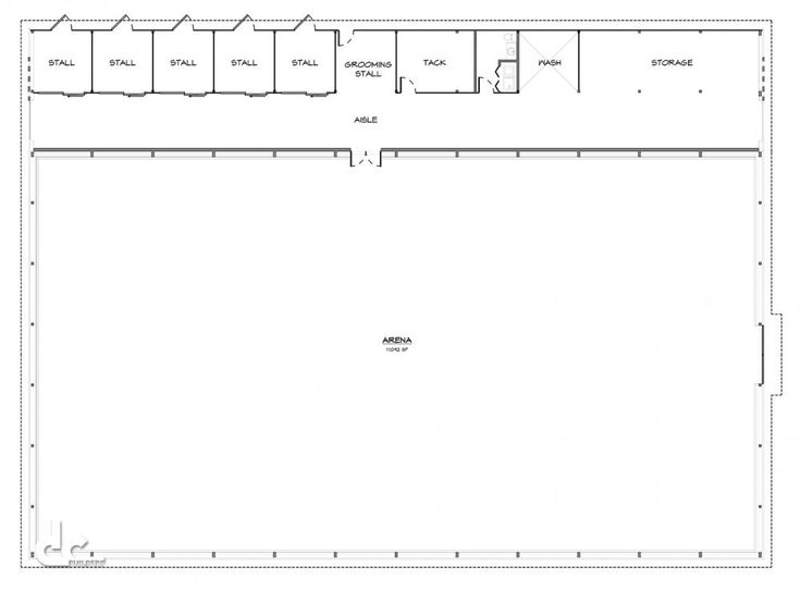 144 Ft Arena Stable Covered Riding Arena Floor Plans