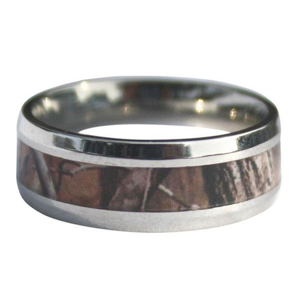 Working Man's Camo Ring | Mens Camo Wedding Ring – Antler Rings