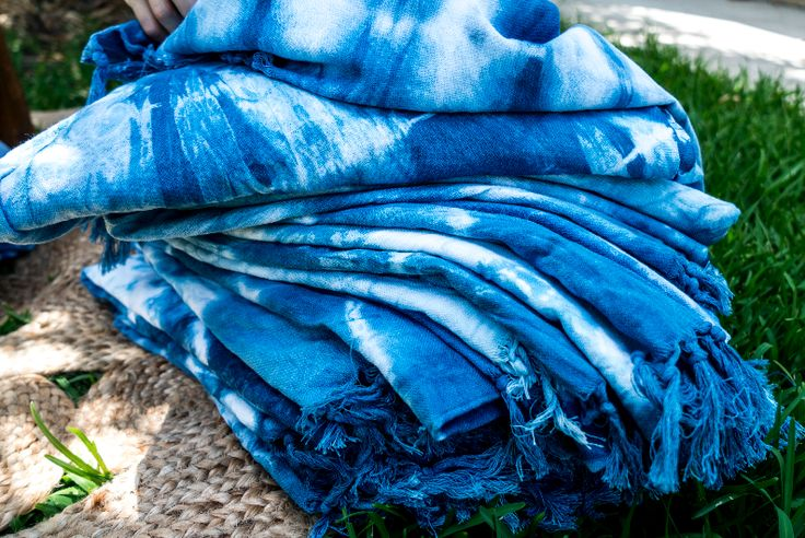 MAYDE - RIPPLES - SHIBORI TOWEL