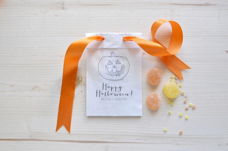 10 Sacchetti per dolci e caramelle di Halloween di Pearls to Pigeons su DaWanda.com