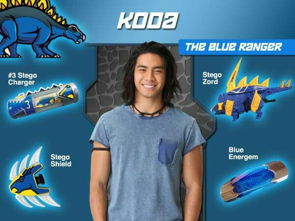 Koda the Dino Charge Blue Ranger