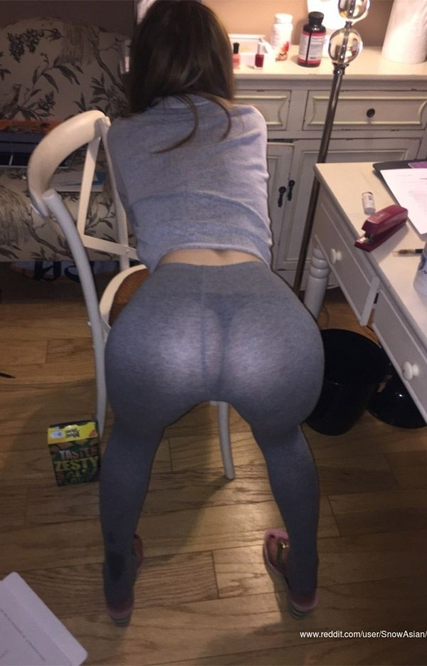 Remarkable, this Perfect girls yoga pants bent over ass sex seems