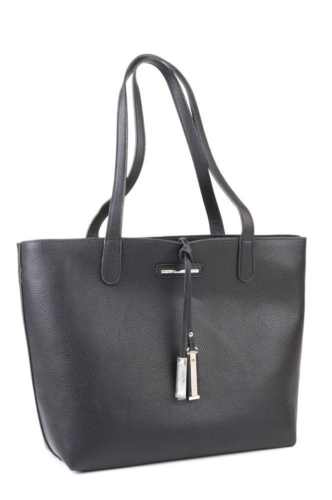 Diana Ferrari Luna bag - Black Pebble