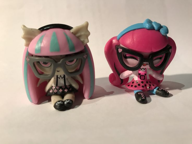 Geek Shriek Minis!  #RochelleGoyle #Draculaura