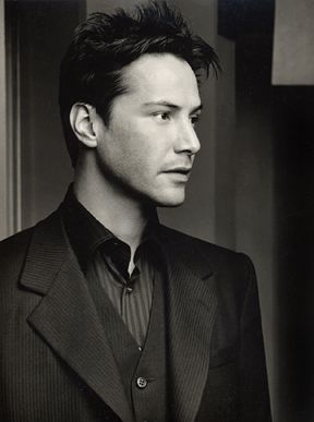 Keanu Reeves It's a tie between Keanu and Johnny Depp for my first celebrity crush. I honestly can't remember who I saw first. They both just konda pop up into my head around the same time.