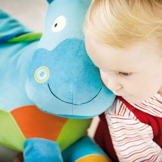Miły towarzysz dziecięcych zabaw, #pluszowy Konik / Horse, Bawi