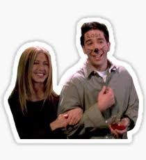Image result for friends ross sticker iPhone X Wallpaper 496733033892354418 5