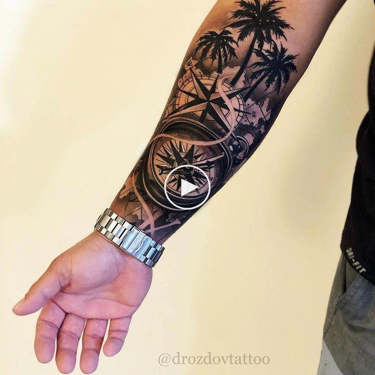 12 Tatuajes media manga hombre