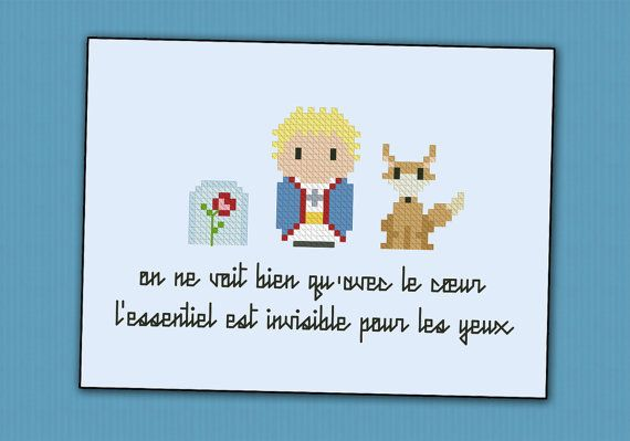 The Little Prince parody  Cross stitch PDF by cloudsfactory, $4.00