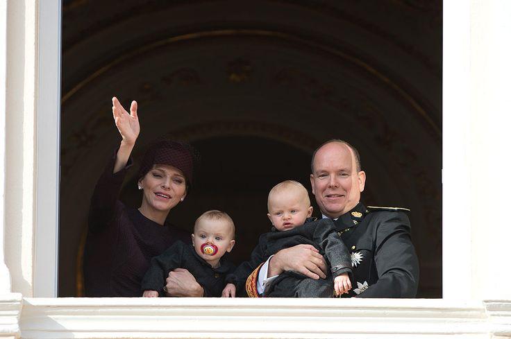 Los mellizos del príncipe Alberto y la princesa Charlene acapararon las miradas en el evento que contó con la presencia de toda la familia real monegasca.