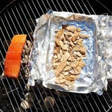 aFire Sugar Maple Smoker Chips go well with fish, beef or chicken!