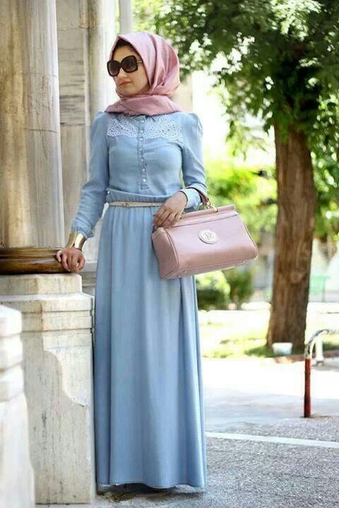 Maxi long sleeves dress