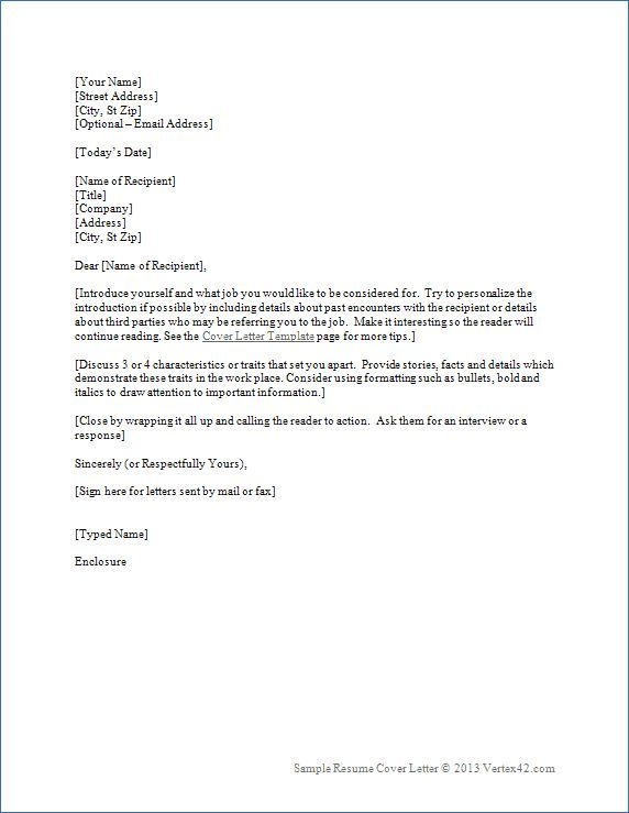 Free Resume With Cover Letter Templates | Resume cover ...