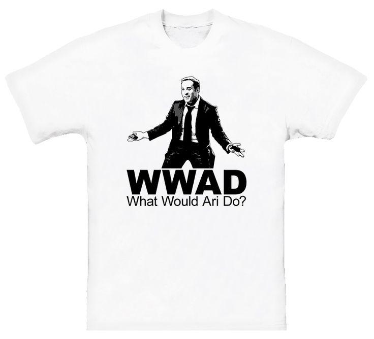Wwjd Ari Gold Entourage T Shirt