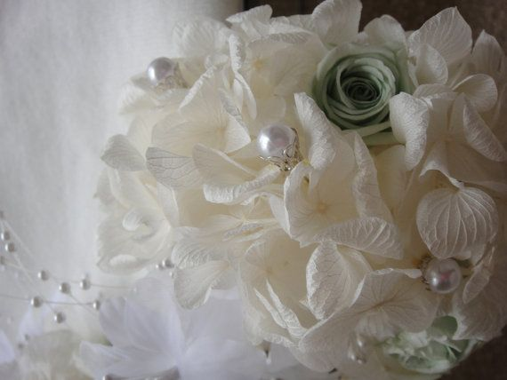 Hydrangea Corsages and Boutonnieres  Wedding by donnahubbard, $35.00