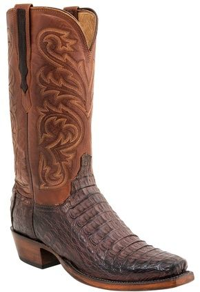 "georgetowncowboyboots - Lucchese Since 1883 Heritage Hornback Caiman Boots ""Brett"" H1015, $825.95 (http://www.georgetowncowboyboots.com/lucchese-since-1883-heritage-hornback-caiman-boots-brett-h1015/)"