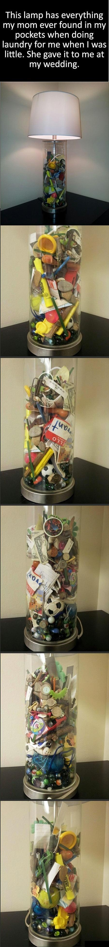 What a great idea, not for a wedding gift but maybe when they move out on their own one day:(