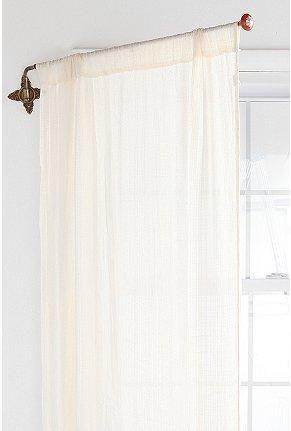swing curtain rod