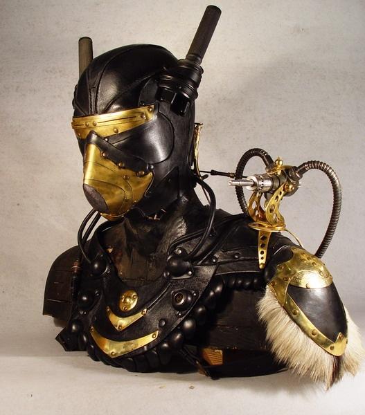 Bob Basset's Lair – Nord Guard Steampunk Art leather mask