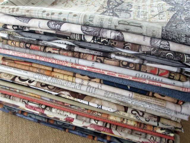 Tim holtz fabric can 39 t wait to get my hands on this some for Where can you get fabric