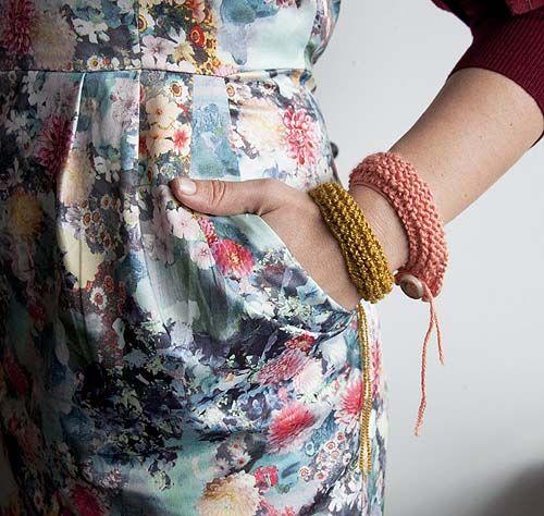 DIY: Jednoduché pletené náramky