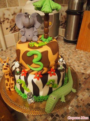 Торт джунгли 2
