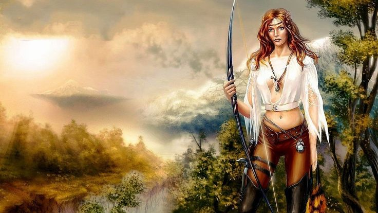 Image detail for -Download Free Fantasy Wallpapers Women Warrior Wallpaper Backgrounds