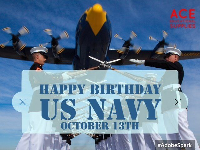 Founded October 13th, 1775 #HappyBirthdayNavy