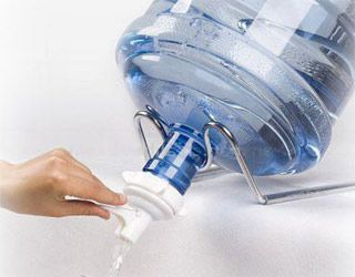 5-gallon-water-bottle pumps, stands, etc
