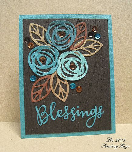 I don't have the 'Blessings' framelit, but, if someone does, you could bring it over sometime!