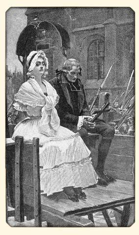 Marie-Antoinette sur la route de l'echafaud