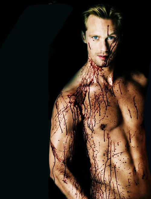alexander skarsgard... If you've read the sookie stackhouse series you know how bad you want him to be yours