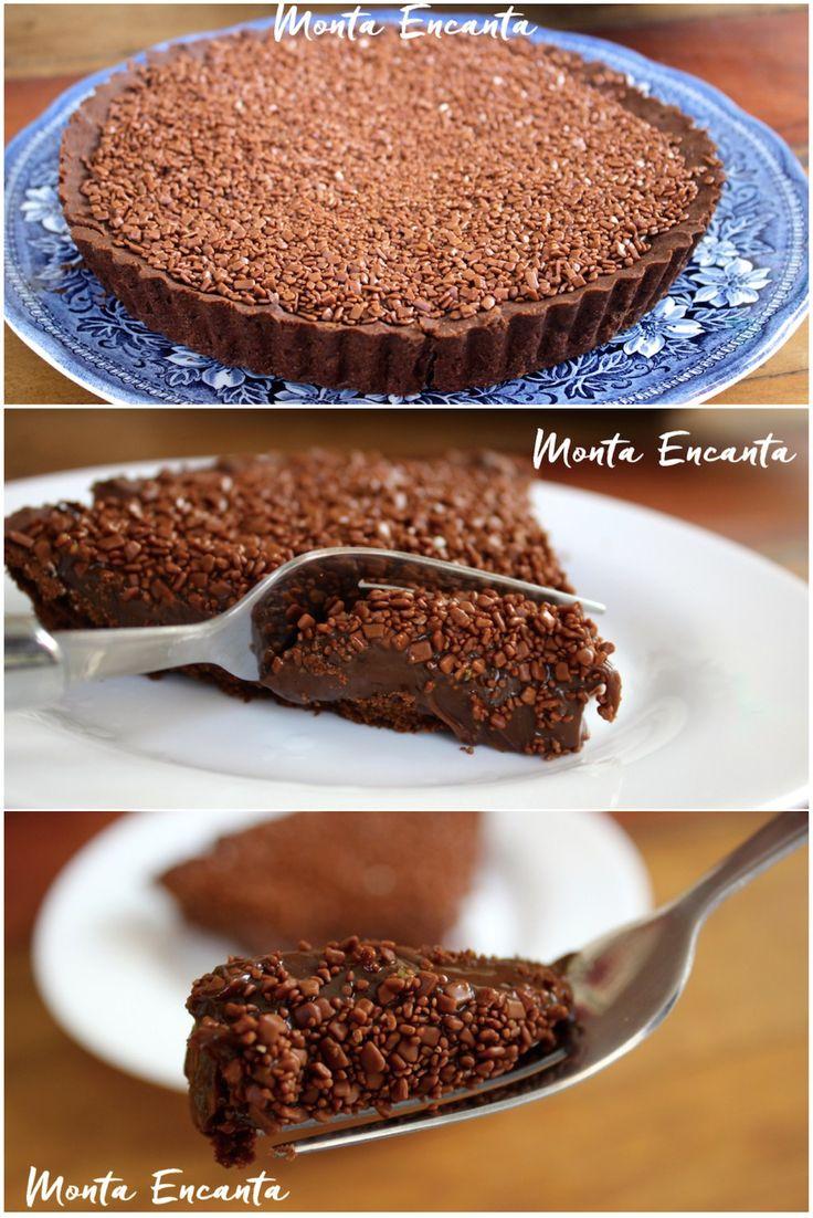 Torta de Brigadeiro, é uma daquelas sobremesas coringas, bem rapidinha de fazer e para lá de deliciosa. Basta fazer o brigadeiro e pode aquela sua receita de brigadeiro que você tanto gosta ou a…