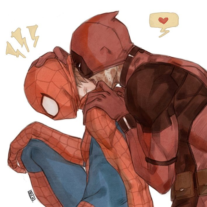 1000 Images About Spideypool On Pinterest