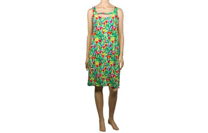 Vestido estampado con tulipanes de colores #Flores #InstintoBcn #Shop