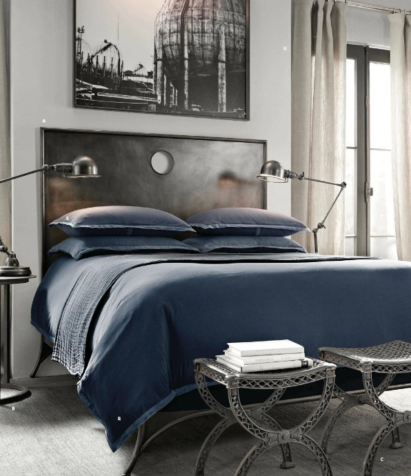 Masculine Vintage Bedroom: 254 Best Restoration Hardware Happiness :) Images On